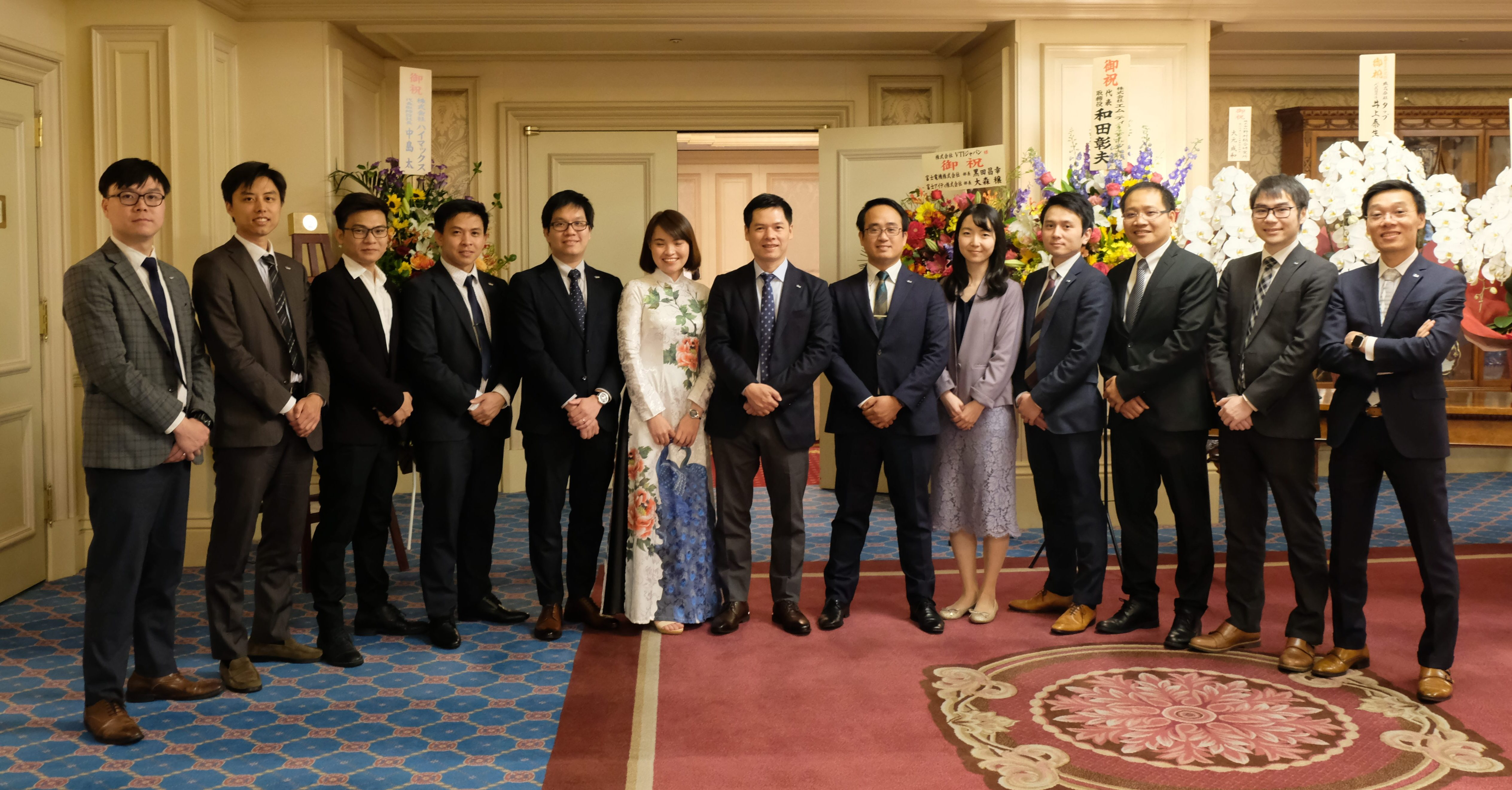 VTI Japan held Osaka Branch Opening Ceremony