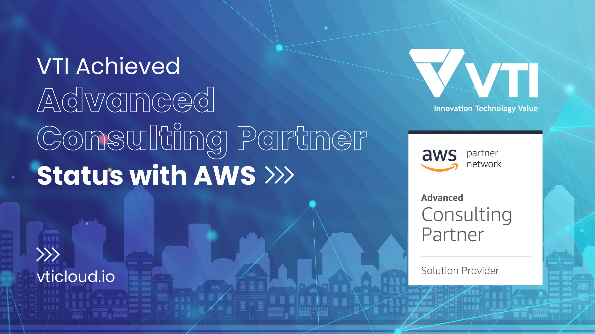 VTI officially becomes AWS's Advanced Consulting Partner
